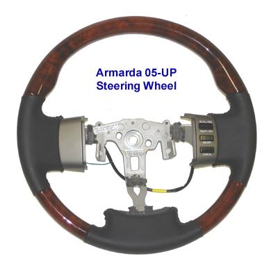 Armada Burlwood Steering - 400