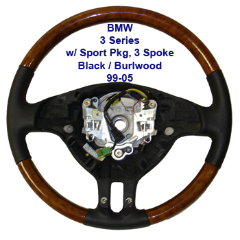 BMW 3 Series-3 Spoke-burl-99-05done