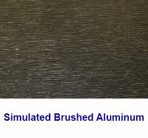 Brushed Aluminum Sample -1