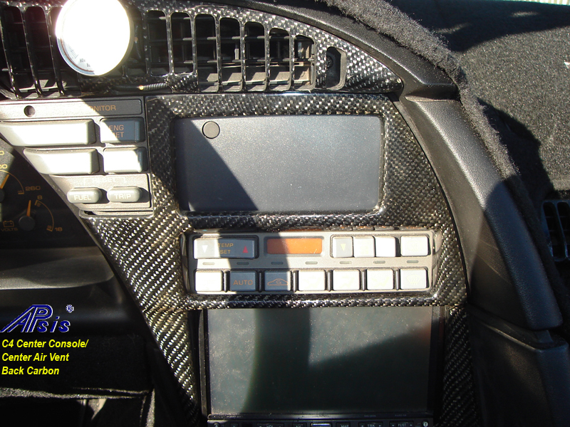 C4 Carbon Center Console-installed-2