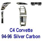 C4 Corvette-Silver CF- 150