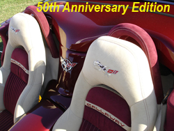 C5 50th anniversary-seat cover-close shot-1