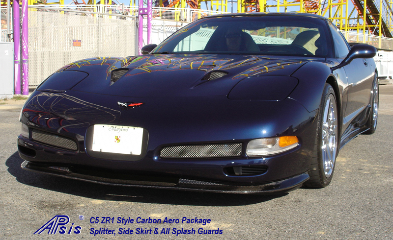 C5 CF Aero Pkg-installed-whole view-9 driver front view