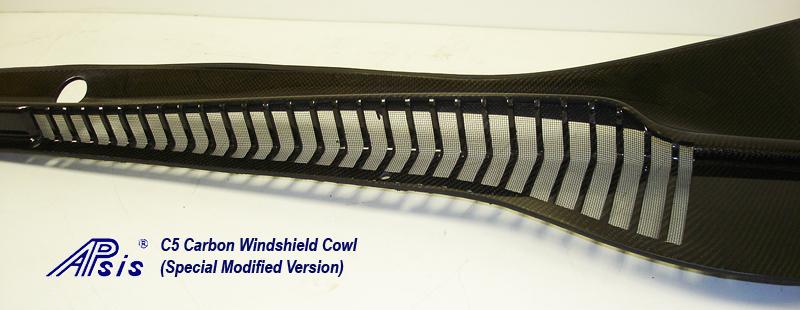 C5 CF Windshield Cowl-modified no bumps-close shot-1