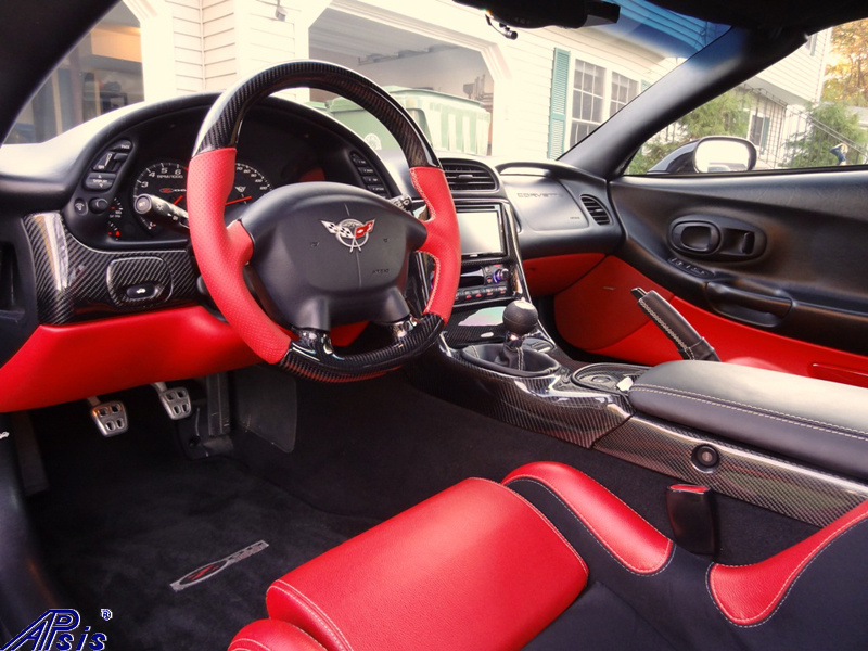 C5 Carbon Interior + D-Type SW-installed-from bill martinson-1