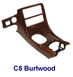 C5 Corvette Lamination Burl-Center Console - 150