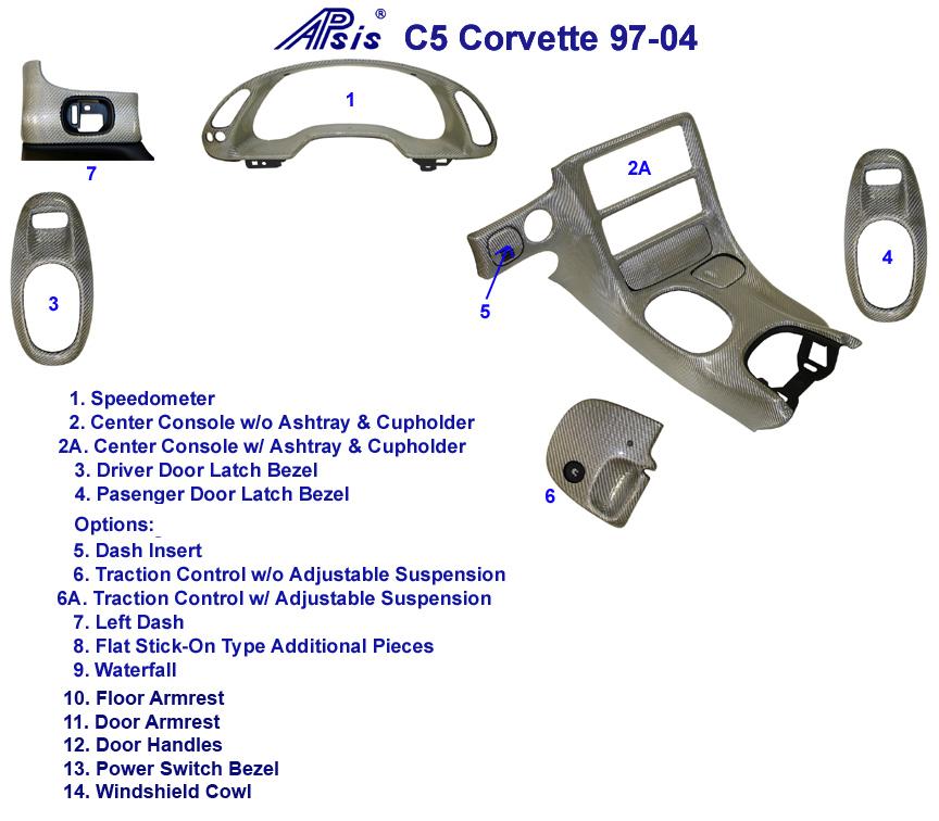 C5 Corvette Silver CF-Diagram w-cap
