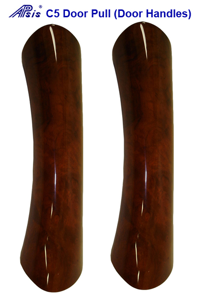 C5 Door Handle-burlwood-DF & PF-pair-400