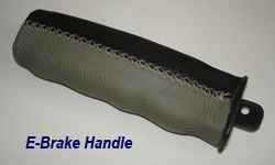 C5 E-Brake Handle-ebony+gray-1