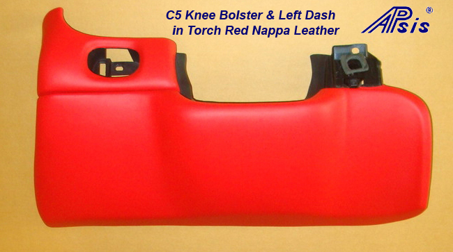 C5 Knee Bolster-torch red