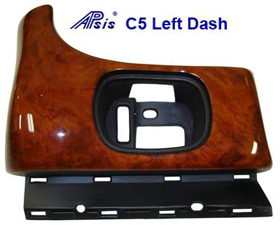 C5 Left Dash Burlwood - 400