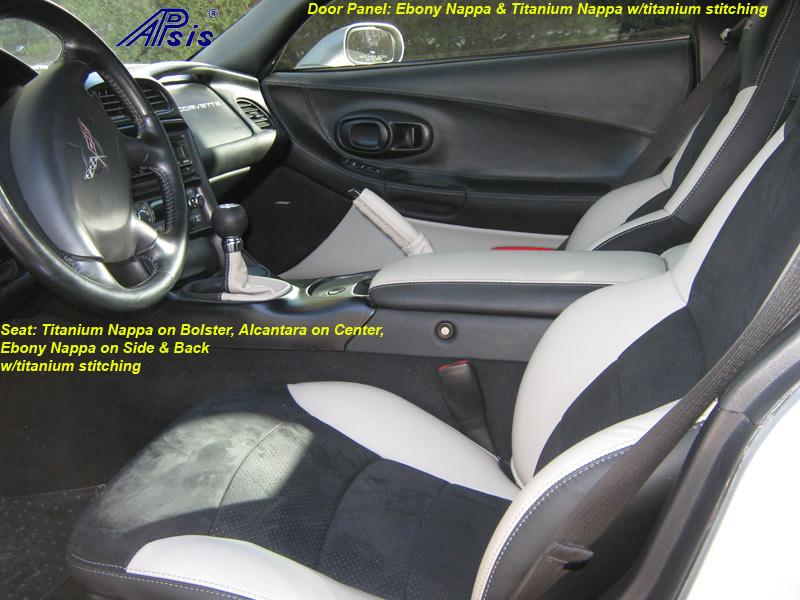 C5 Seat Cover-titanium bolster-alcantara center-full view-don-1