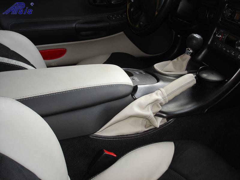 C5 Shift Boot & E-Brake Boot-titanium-2