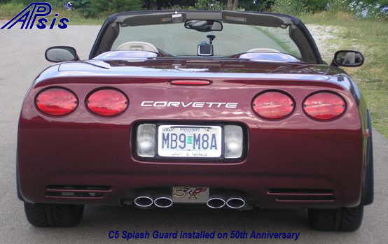 C5 Splash Guard installed on 50th anniversary by garry hollander-7