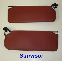 C5 Sunvisor-cobalt red nappa-pair-2a 200