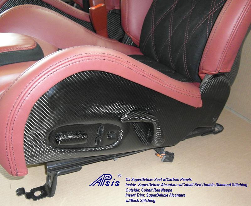 C5 SuperDeluxe Seat w-CF-cobalt red+alcantara w-cobalt stitching-from jean-2