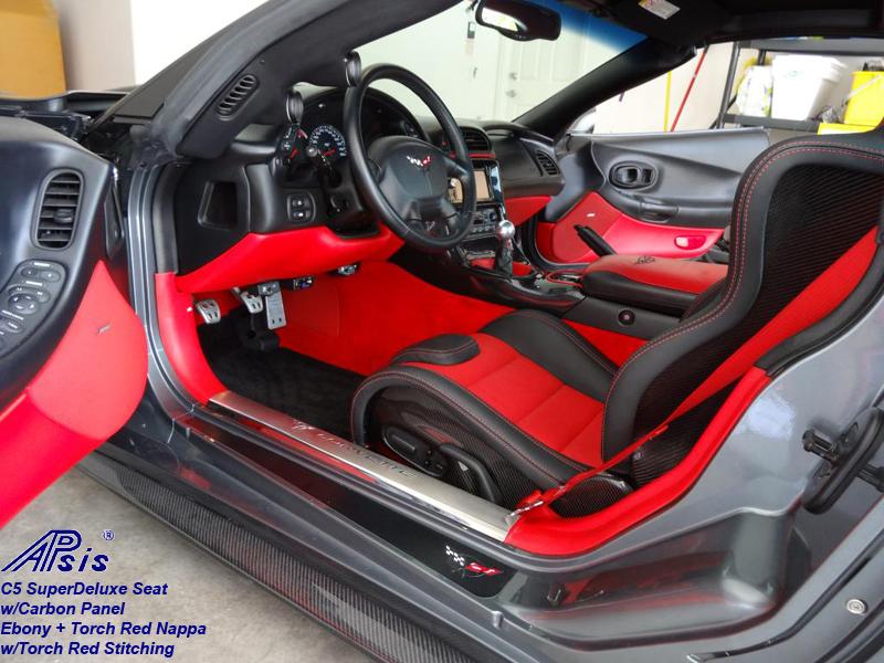 C5 SuperDeluxe Seat w-CF panel-EB+TR-6