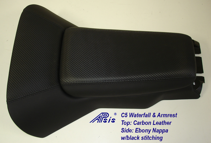 C5 Waterfall+Armrest-carbon leather & nappa-full view-3