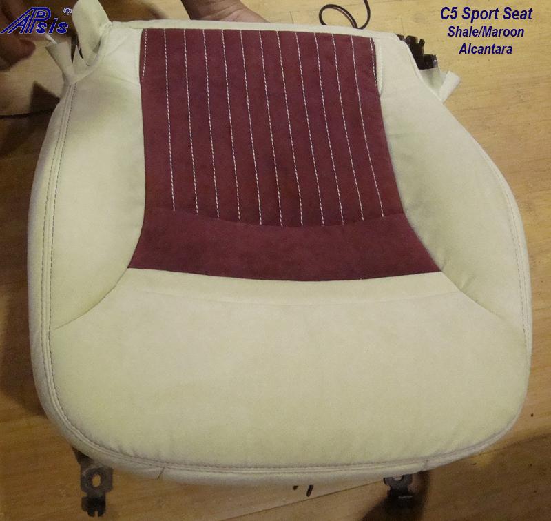 C5 Z06 Sport Seat-shale alan + maroon alcan-lower only-1