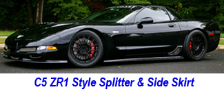 C5 ZR1 Style Splitter-Side Skirt-1-325