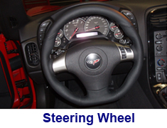 C6 3 Spoke Steering Wheel 250
