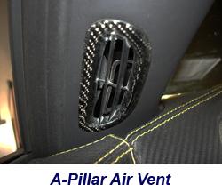 C6 A-Pillar Air Vent-CF-installed-3 250