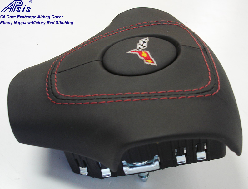 C6 Airbag Cover-core exchange-EB w-vr stitching-4