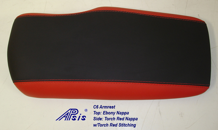 C6 Armrest-eb+torch red-no logo-1