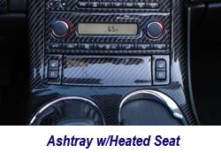 C6 Ashtray w-heated seat-1 250