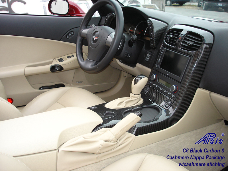 C6 Black CF + Cashmere Nappa-installed-full view-1