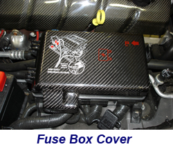 C6 Black CF-Fuse Box-installed-1