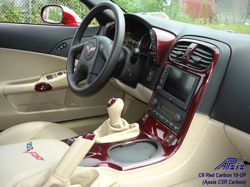 C6 C5R CF whole interior-installed-pass view-2