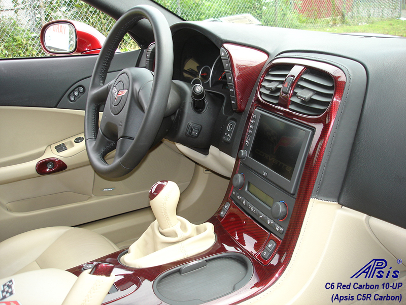 C6 C5R CF whole interior-installed-show center console-5-pass view