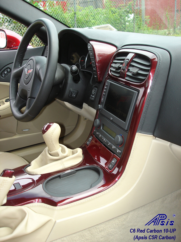 C6 C5R CF whole interior-installed-show center console-6-pass view