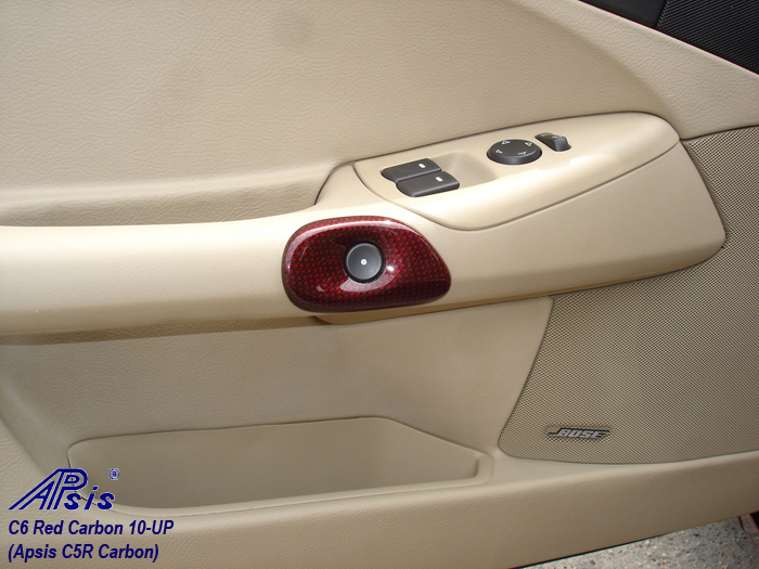 C6 C5R CF whole interior-installed-show push button opener-driver-1