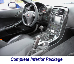 C6 CF Complete Interior Package 250