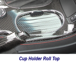 C6 CF Cup Holder Roll Top 250