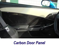 C6 CF Door Panel 250