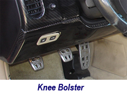 C6 CF Knee Bolster-1 250