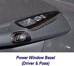 C6 CF Power Window Bezel-1 250
