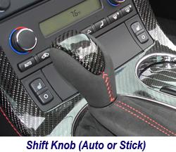 C6 CF Shift Knob-auto or stick 250