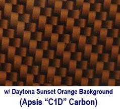 C6 Carbon Look w-Daytona Sunset Orange Background 238x178