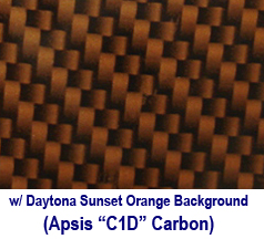 C6 Carbon Look w-Daytona Sunset Orange Background 238x178