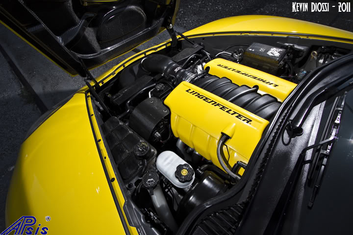 C6 Carbon Pkg under the hood installed on spoiled996 car-1