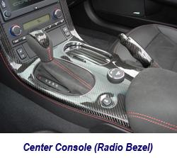 C6 Center Console-CF-1 250