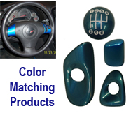C6 Color Matching Products  - Jet Stream Blue -