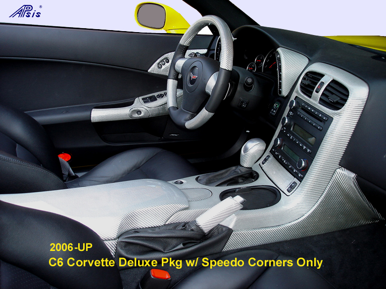 C6 Corvette Silver CF-whole view w-Speedo Corner only-780