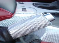 C6 Corvette-SilverCF-Hand Brake - 200p 72P Red