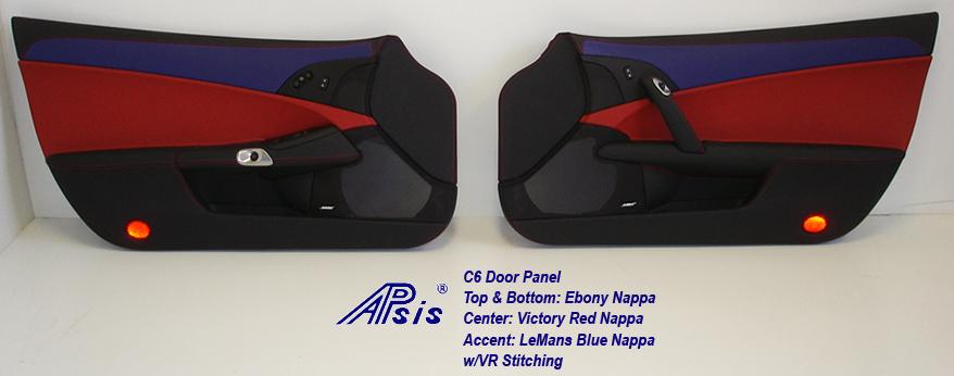 C6 Door Panel-EB+VR+LMB Accent-pair-1