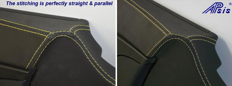 C6 Driver Door Panel w-VY-close shot show stitching-1